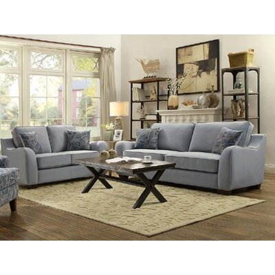 Hefley 2 Piece Living Room Set
