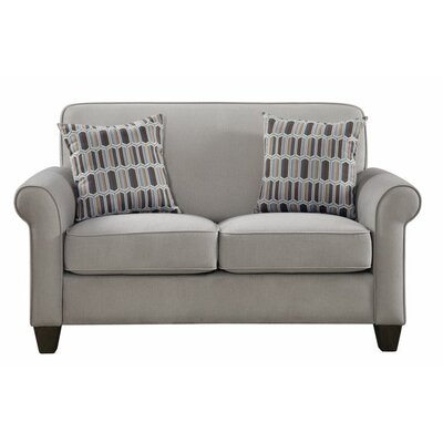 Heflin Loveseat Color: Cement