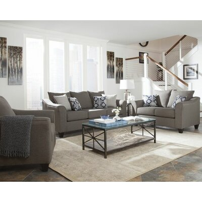 Hegarty 3 Piece Living Room Set