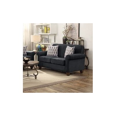 Heflin Loveseat Color: Graphite