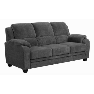 Creamer Sofa Upholstery: Charcoal