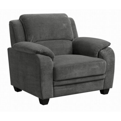 Creamer Armchair  Upholstery: Charcoal