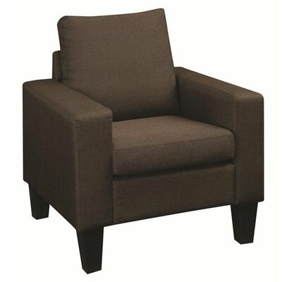 Creasey Armchair Upholstery: Chocolate