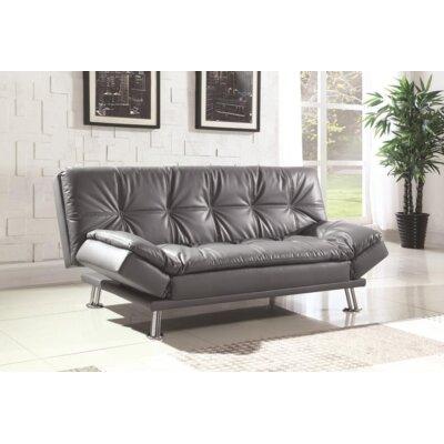 Renfro Convertible Sleeper Sofa Upholstery: Gray