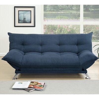 Toles Reclining Sleeper Upholstery : Navy