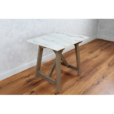 Avalon Marble Side End Table