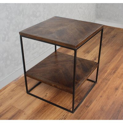 Sharell Mango Parquet End Table
