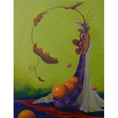 'Cornucopia' Acrylic Painting Print on Canvas Size: 24