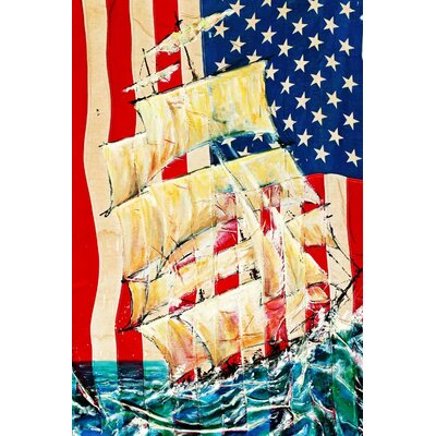 'Spirit of America' Acrylic Painting Print on Canvas Size: 27