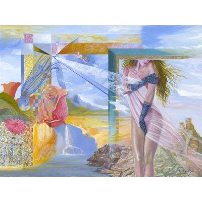 'Aphrodites Dream' Acrylic Painting Print on Canvas Size: 18