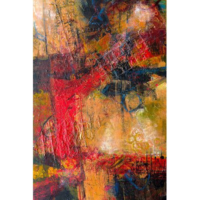 'Seeking the Golden Mean' Acrylic Painting Print on Canvas Size: 27