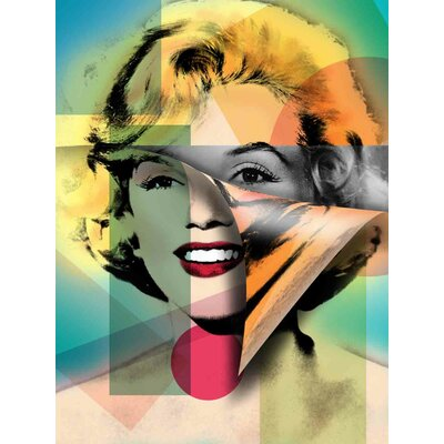 'Marilyn Monroe I' Graphic Art Print on Canvas Size: 24