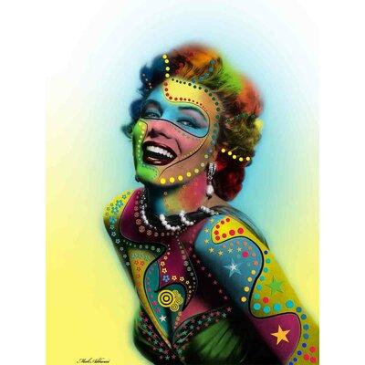 'Marilyn Monroe II' Graphic Art Print on Canvas Size: 24