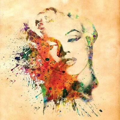 'Marilyn Monroe IX' Graphic Art Print on Canvas Size: 18