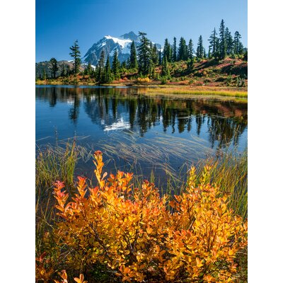 'Mount Shuksan' Photographic Print on Canvas Size: 24