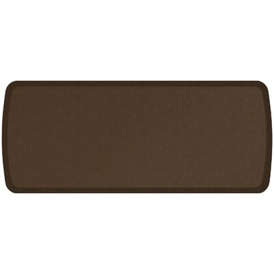 Vintage Leather Elite Premier Comfort Kitchen Mat Mat Size: 18 x 4, Color: Rustic Brown