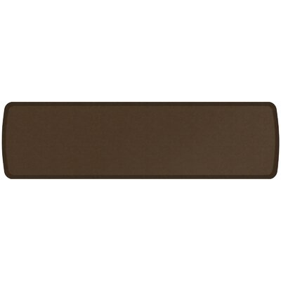 Vintage Leather Elite Premier Comfort Kitchen Mat Mat Size: 18 x 6, Color: Rustic Brown