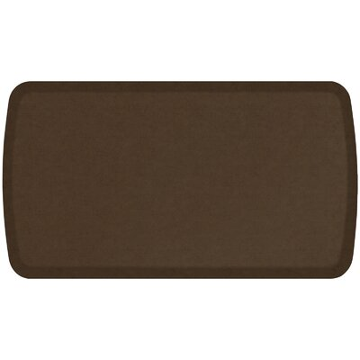 Vintage Leather Elite Premier Comfort Kitchen Mat Mat Size: 18 x 3, Color: Rustic Brown