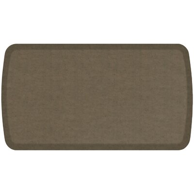 Vintage Leather Elite Premier Comfort Kitchen Mat Mat Size: 18 x 3, Color: Mushroom