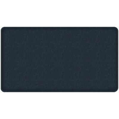 Quill Classic Comfort Kitchen Mat Mat Size: 18 x 3, Color: Atlantic Blue