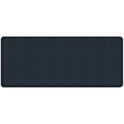 Quill Classic Comfort Kitchen Mat Mat Size: 18 x 4, Color: Atlantic Blue