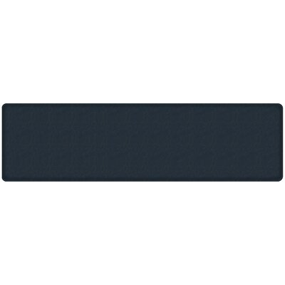 Quill Classic Comfort Kitchen Mat Mat Size: 18 x 6, Color: Atlantic Blue