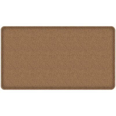 Quill Classic Comfort Kitchen Mat Mat Size: 18 x 3, Color: Toast