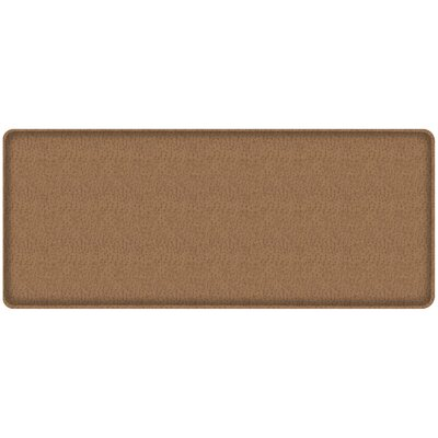 Quill Classic Comfort Kitchen Mat Mat Size: 18 x 4, Color: Toast