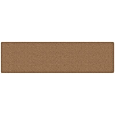 Quill Classic Comfort Kitchen Mat Mat Size: 18 x 6, Color: Toast