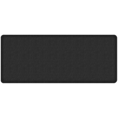 Quill Classic Comfort Kitchen Mat Mat Size: 18 x 4, Color: Black