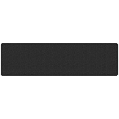 Quill Classic Comfort Kitchen Mat Mat Size: 18 x 6, Color: Black