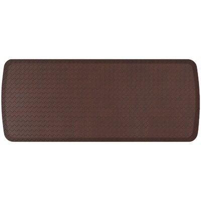 Basketweave Elite Premier Comfort Kitchen Mat Mat Size: 18 x 4, Color: Truffle