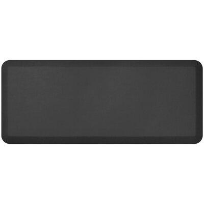 Designer Standing Desk Utility Mat Mat Size: 18 x 4, Color: Black