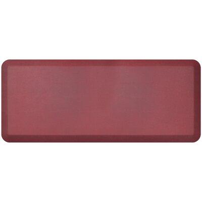 Designer Standing Desk Utility Mat Mat Size: 18 x 4, Color: Cranberry