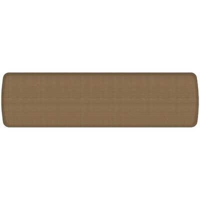 Rattan Elite Premier Comfort Kitchen Mat Mat Size: 18 x 6, Color: Summer Sand