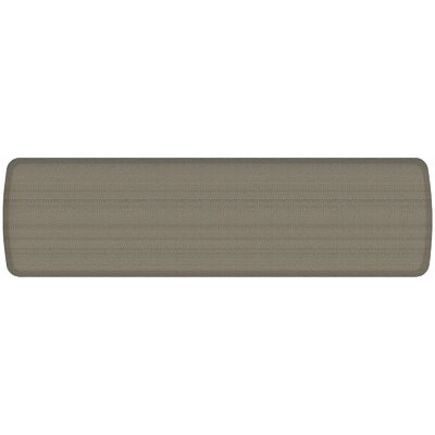 Rattan Elite Premier Comfort Kitchen Mat Mat Size: 18 x 6, Color: Galveston Gray