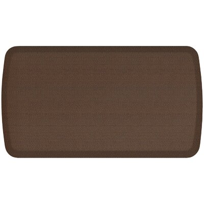 Rattan Elite Premier Comfort Kitchen Mat Mat Size: 18 x 3, Color: Redwood