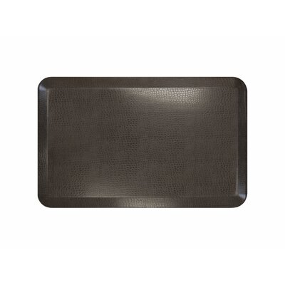 Pebble Designer Comfort Kitchen Mat Mat Size: 18 x 28, Color: Espresso