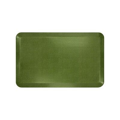 Pebble Designer Comfort Kitchen Mat Mat Size: 18 x 28, Color: Palm