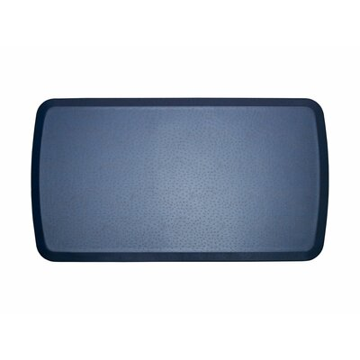 Quill Elite Premier Comfort Kitchen Mat Mat Size: 18 x 6, Color: Atlantic Blue