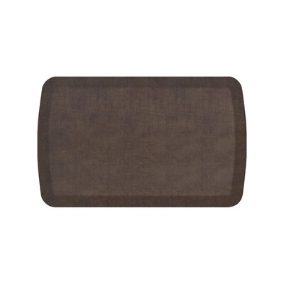 Basics Anti-Fatigue Kitchen Mat Color: Brownie