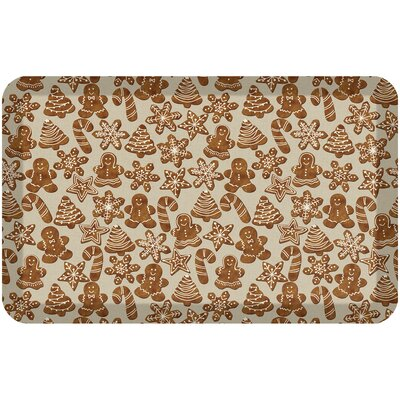 Holiday Designer Comfort Kitchen Mat