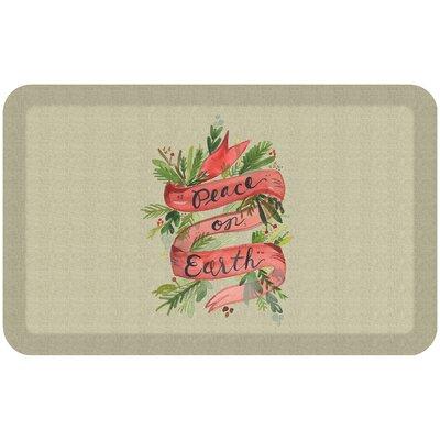 Holiday Designer Comfort Kitchen Mat
