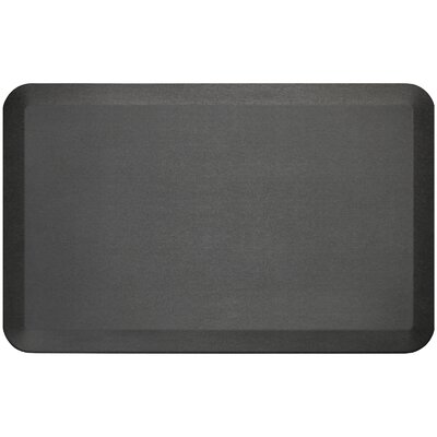Professional Grade Comfort Kitchen Mat Mat Size: 18 x 28, Color: Midnight