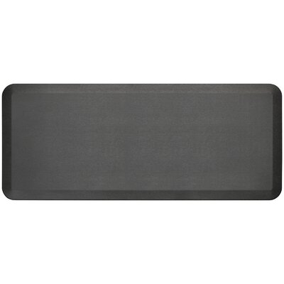 Professional Grade Comfort Kitchen Mat Mat Size: 18 x 4, Color: Midnight