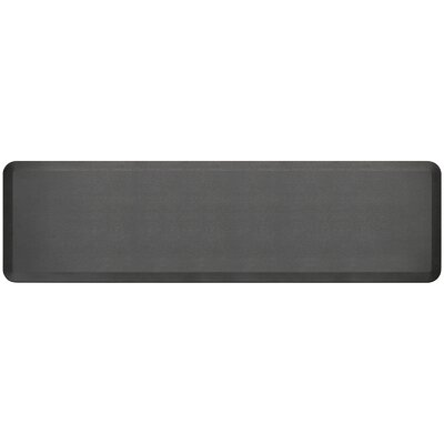 Professional Grade Comfort Kitchen Mat Mat Size: 18 x 6, Color: Midnight