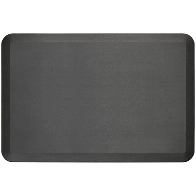 Professional Grade Comfort Kitchen Mat Mat Size: 2 x 3, Color: Midnight