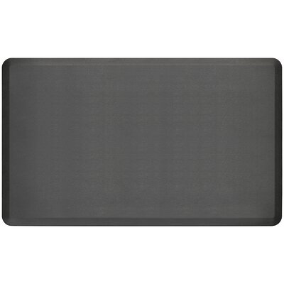 Professional Grade Comfort Kitchen Mat Mat Size: 3 x 5, Color: Midnight