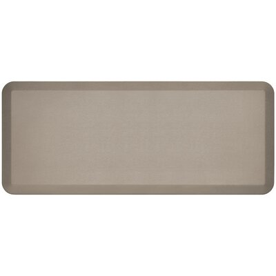 Professional Grade Comfort Kitchen Mat Mat Size: 18 x 4, Color: Stone
