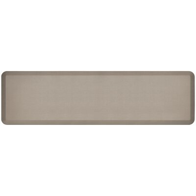Professional Grade Comfort Kitchen Mat Mat Size: 18 x 6, Color: Stone